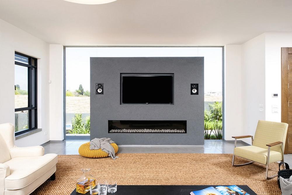 Type of TV bench model built-in
