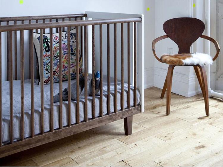 desain kasur bayi minimalis