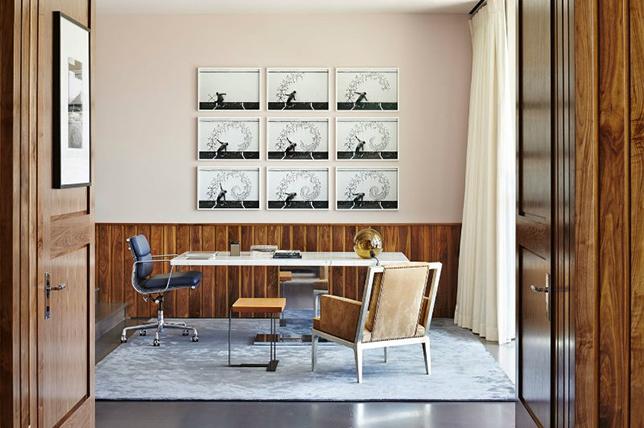Hangat dan nyaman dengan karpet untuk mendekor ruang kerja di rumah