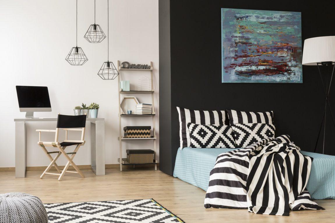 Penggunaan Furniture pada Desain Interior Apartemen Studio