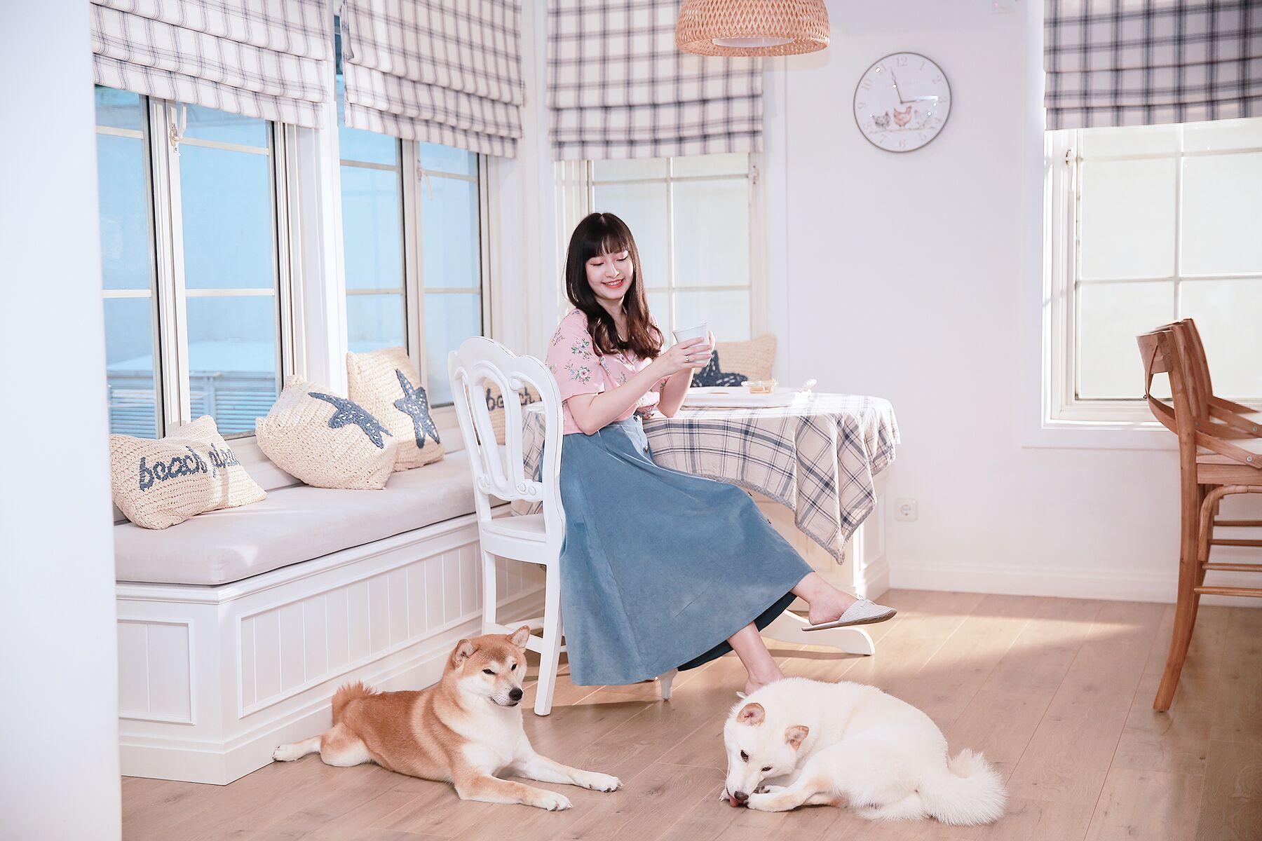 Ruang Makan Sederhana Nan Cantik di Pojok Dapur - Desain Rumah American Style Milik Vannesa Andrea