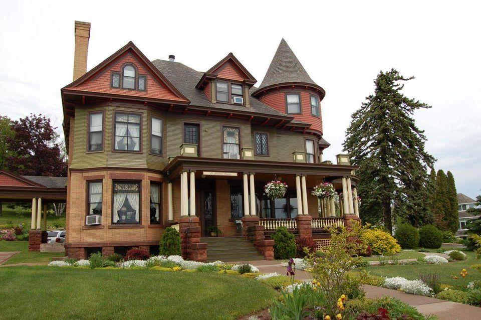kemegahan gaya rumah victorian
