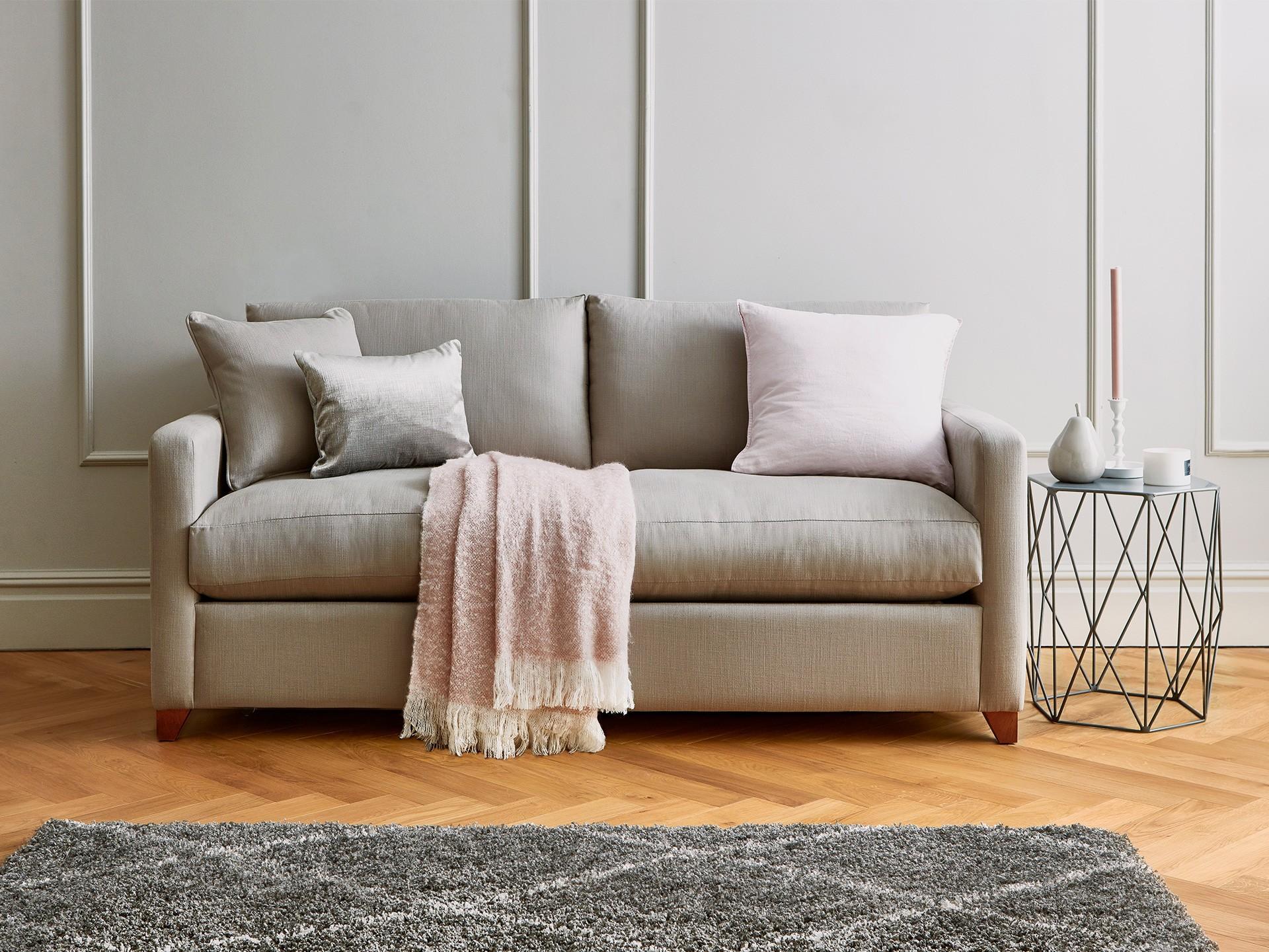 2 bahan sofa bed katun