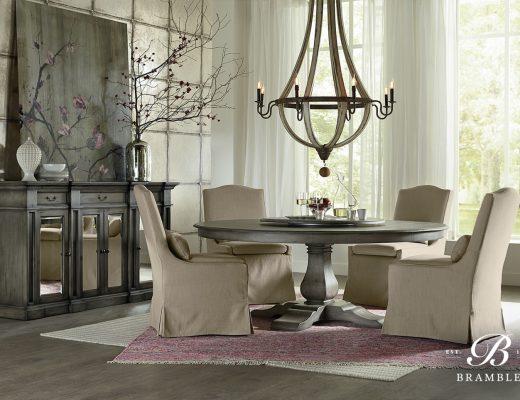 Trestle Dining Set Bramble Memilih Furniture Kayu Mahoni