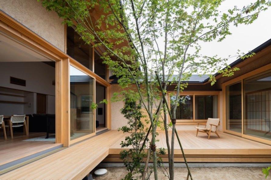 rumah modern jepang wabi sabi - Inspirasi Dekorasi Rumah Modern Jepang ini, Memberikan Kesan Nyaman & Menyenangkan