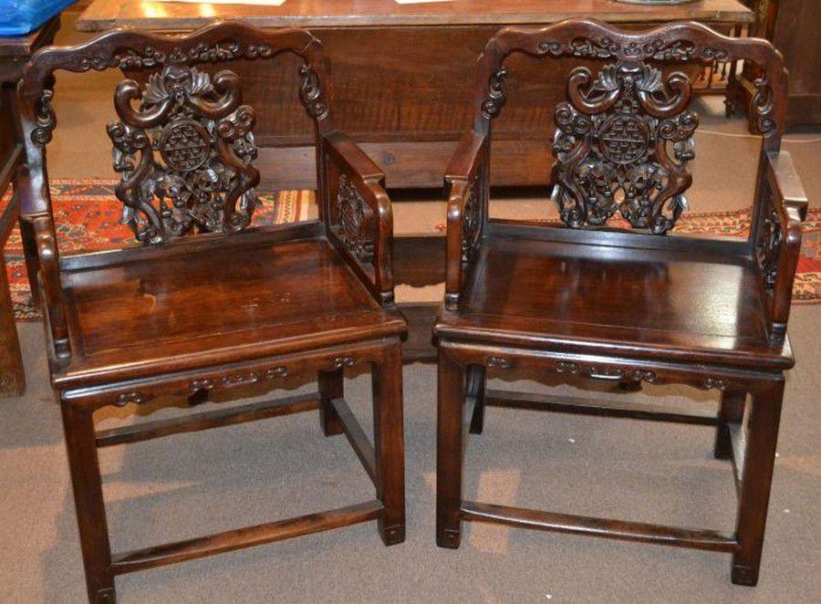 2 furniture kayu gaharu kursi