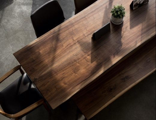 furniture meja kayu gaharu