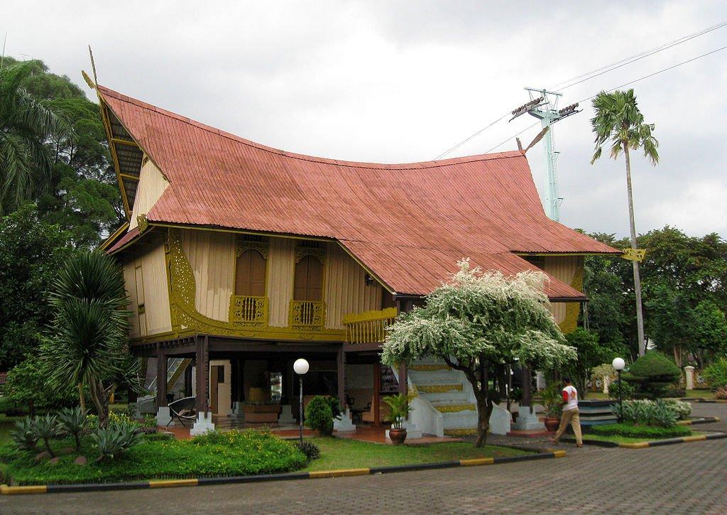 rumah adat riau Rumah Melayu Atap Lontik