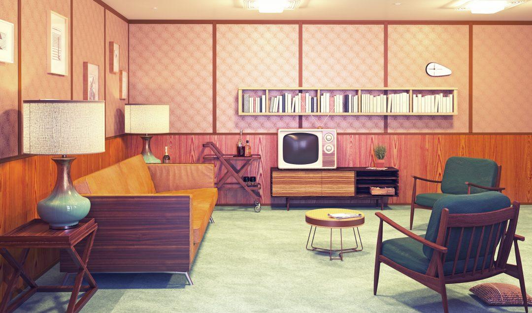 4 elemen kayu interior rumah