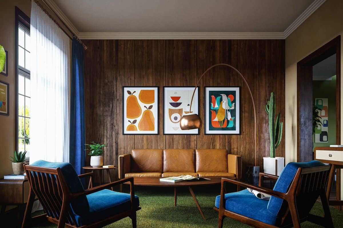 5 furniture kulit interior rumah modern