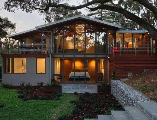 Desain Rumah Mid Century Modern