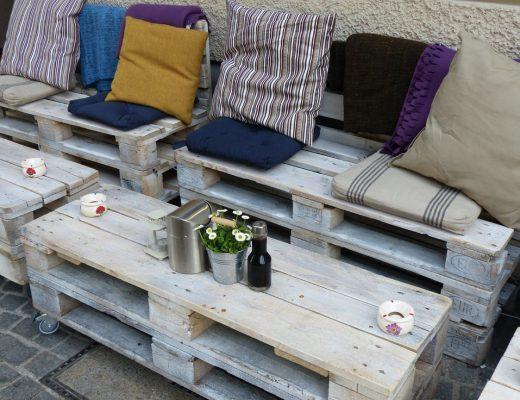 Ide DIY Furniture dari Palet Kayu Bekas
