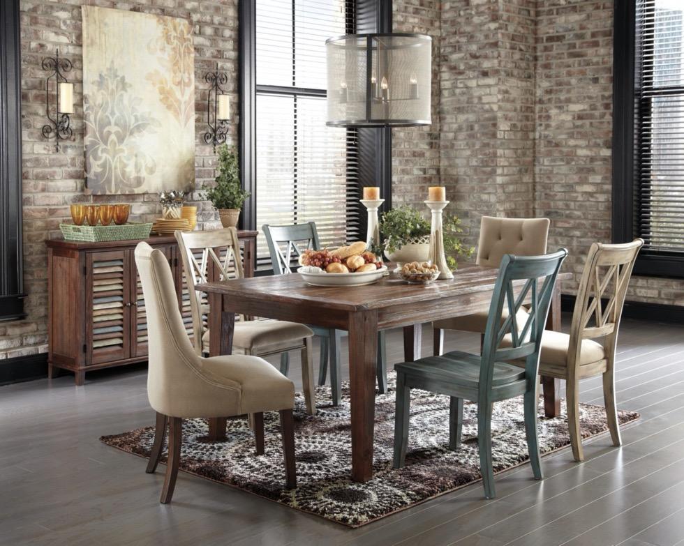 Karpet Ruang Makan Bergaya Rustic