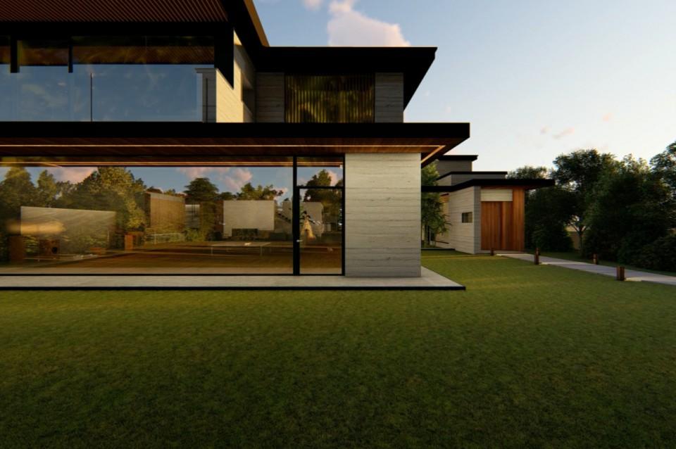 6 desain eksterior rumah mewah minimalis film parasite