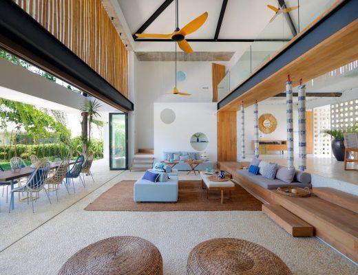 Interior Rumah Tema Musim Panas Bali
