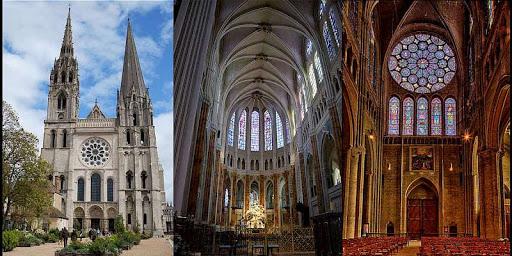 Katedral Chartres bangunan gotik di dunia