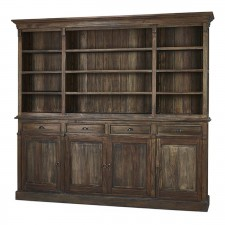 Hudson Open Bookcases