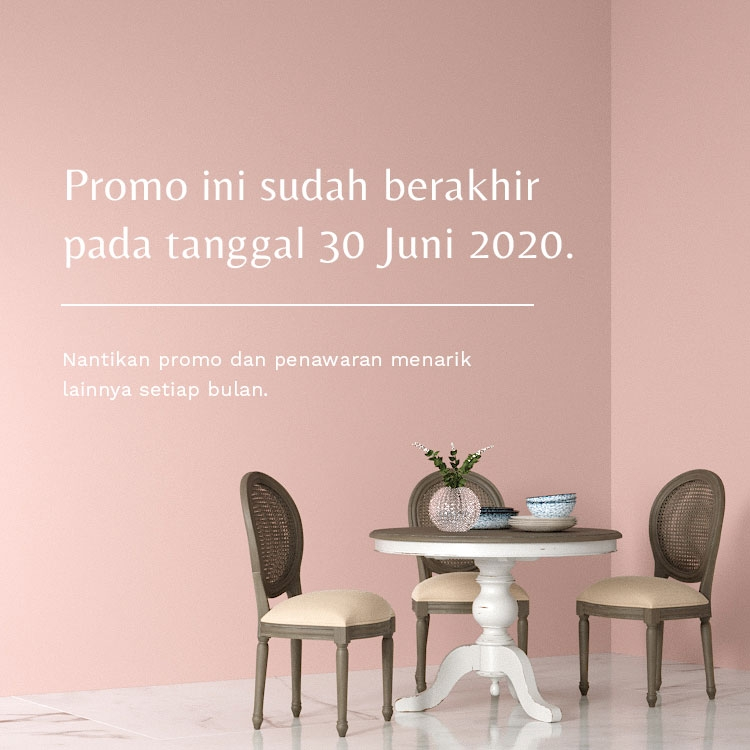 Promo diskon all items 30% off, hanya sampai 30 Juni 2020